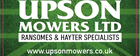 Upsons Mowers