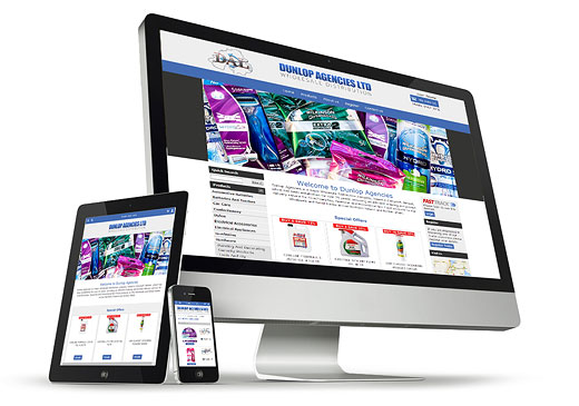 Ocean e-commerce fully responsive